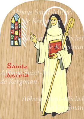 sainte astrid abbaye saintmichel de kergonan